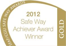 IFAP/CGU Gold Safety Achievement Award 2012