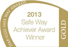 IFAP/CGU Gold Safety Achievement Award 2013