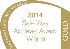 IFAP/CGU Gold Safety Achievement Award 2014