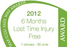 IFAP/CGU Reduction in LTI Rate Award 2012