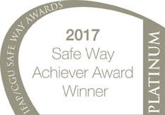 IFAP/CGU Platinum Safety Achievement Award 2017